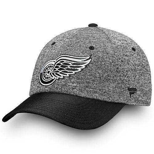 Adult Detroit Red Wings Impact Adjustable Cap