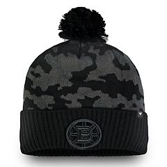 0d7b1214d51 Adult Boston Bruins Camo Beanie