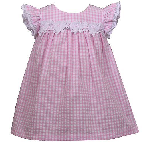 Toddler Girl Bonnie Jean Seersucker Babydoll Dress