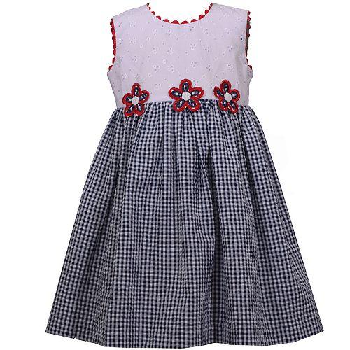 Toddler Girl Bonnie Jean Eyelet Seersucker Dress
