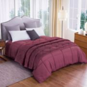 Dream On Velvet Blanket & Down-Alternative Comforter