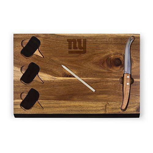 New York Giants Delio Cheese Board Set