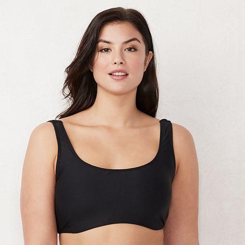 Plus Size LC Lauren Conrad Self-Tie Bikini Top
