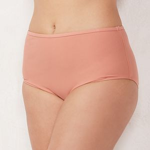 Plus Size LC Lauren Conrad High-Waisted Brief Bottoms