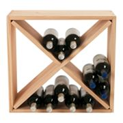 Wine Enthusiast Compact Cellar Cube - Natural