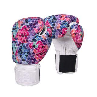 Red Corner Women's Mosaic Boxing Gloves