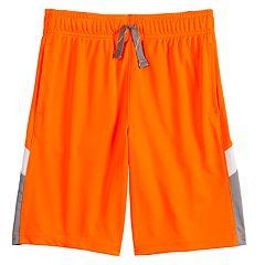 Boys 4-12 Jumping Beans® Interlock Pieced Active Shorts