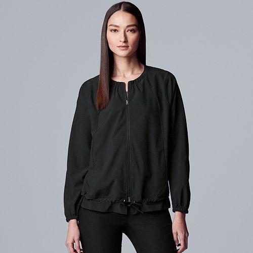 Women's Simply Vera Vera Wang Everyday Movement Quick-Dry Drawstring Jacket