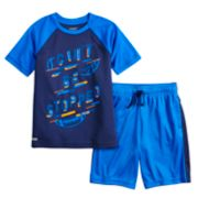 Boys 4-12 Jumping Beans® Playcool Raglan Tee & Athletic Shorts Set