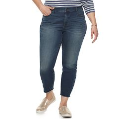 fcff657dbefe6 Plus Size Sonoma Goods for Life Ankle Jeans