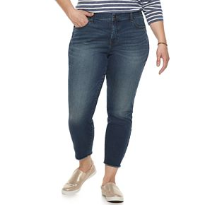Plus Size Sonoma Goods for Life Ankle Jeans