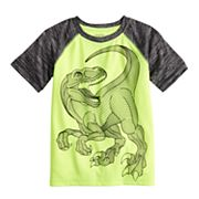 Boys 4-12 Jumping Beans® Dinosaur Raglan Active Tee