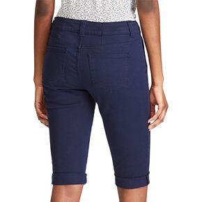 Women's Chaps Cuffed Bermuda Shorts