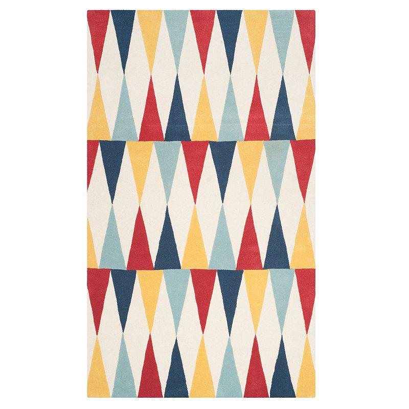 Safavieh Martha Stewart Levine Azurite Rug, Blue, 5X8 Ft