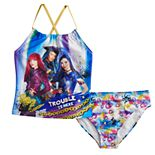 Disney's Descendants Girls 5-7 Tankini Top & Bottoms Swimsuit Set