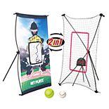 Net Playz Smart Baseball Trainer Combo with 1 Set Sport Radar, Pitchback Rebounder Net & Pitching Target Panel