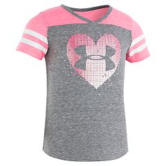 Toddler Girl Under Armour Heart Logo Graphic Tee