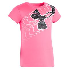 Toddler Girl Under Armour Logo Tee