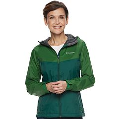 Women's Columbia Switchback Colorblock Rain Jacket