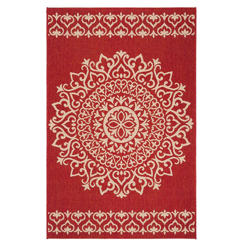Safavieh Linden Paris Rug, Red, 5X7.5 Ft