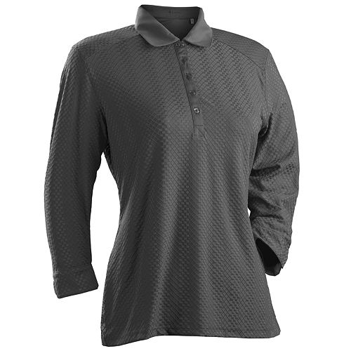 Women's Nancy Lopez Grace 3/4 Sleeve Golf Polo