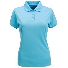 Women's Nancy Lopez Luster Short Sleeve Golf Polo