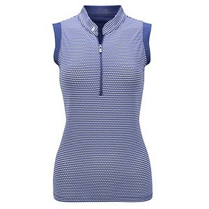 Women's Nancy Lopez Flex Sleeveless Golf Polo