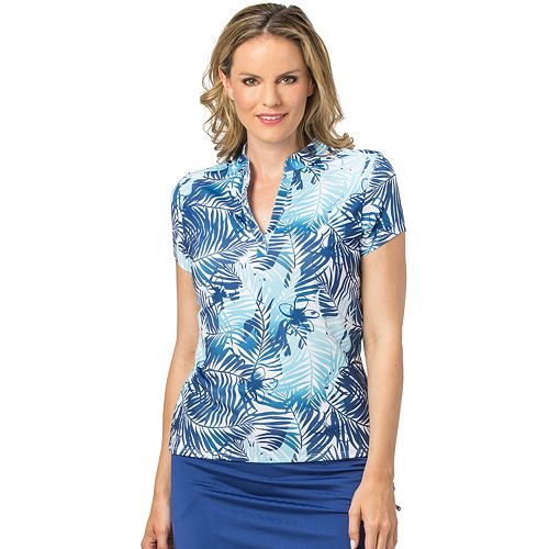 Women's Nancy Lopez Tropic Golf Polo
