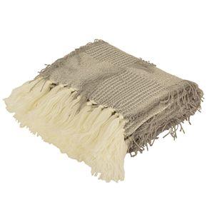 Henleigh Crazy Tassel Knit Throw