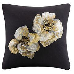 N Natori Casa Noir Throw Pillow