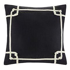 N Natori Geometric Square Throw Pillow