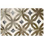 "Bungalow Flooring Gold Tile Mat - 23"" x 36"""
