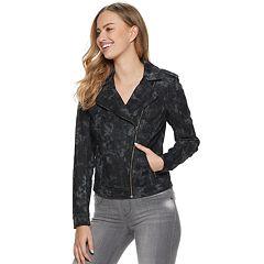 Women's Rock & Republic® Tie Dye Moto Jacket