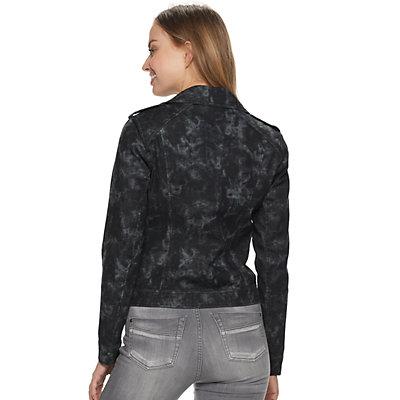 Women's Rock & Republic Tie Dye Moto Jacket