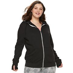 Juniors' Plus Size SO® Core Zip Hoodie