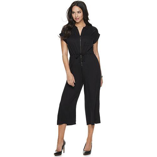 Women's Rock & Republic® Zip Front Jumpsuit