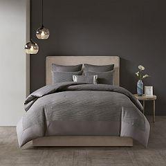 N Natori Cotton Blend 3-piece Comforter Set