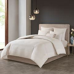 N Natori Cotton Blend 3-piece Comforter Set