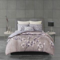 N Natori Sakura Blossom 3-piece Duvet Cover Set