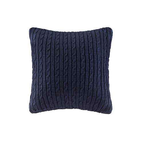 Woolrich Ryland Cable Knit Throw Pillow