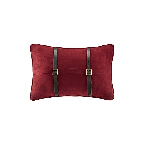 Woolrich Ryland Microsuede Throw Pillow