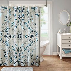 Madison Park Melora Printed Shower Curtain