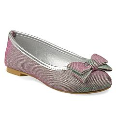 Laura Ashley Bow Girls' Ballet Flats