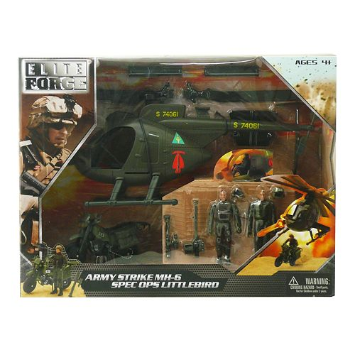 Elite Force Army Strike MH-6 Ops Little Bird Helicopter