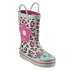 Laura Ashley Cheetah Girls' Rainboots