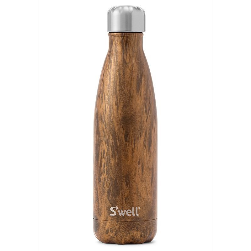 S'well Stainless Steel Water Bottle Teakwood