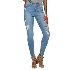 Women's Jennifer Lopez High-Waisted Super Skinny Jeans
