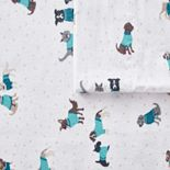 Intelligent Design Cozy Soft Cotton Flannel Sheet Set