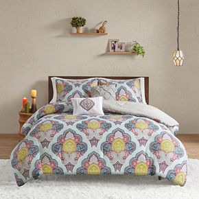 Intelligent Design Jayla Paisley Medallion Comforter Set