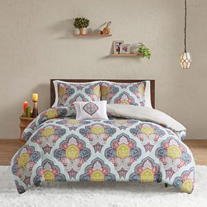 Intelligent Design Jayla Paisley Medallion Duvet Cover Set